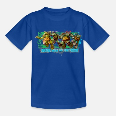 Ninja Teenage Premium Longsleeve TURTLES 'Maybe' - Kinder T-Shirt