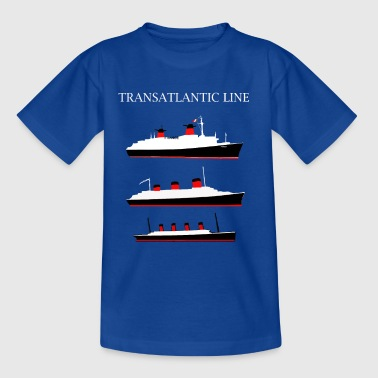 LE FRANCE, LE NORMANDIE, LE TITANIC - T-shirt Enfant