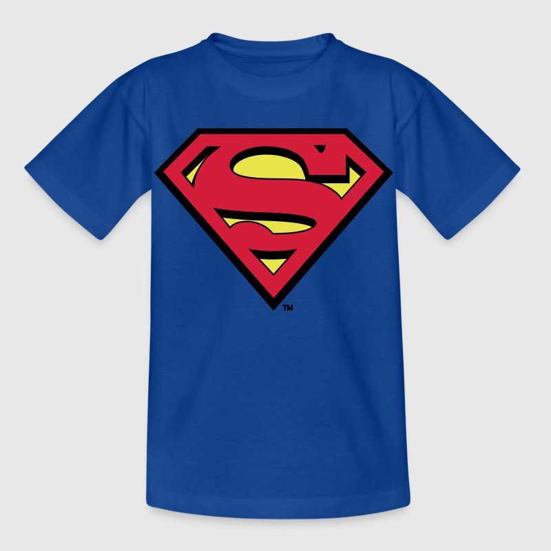 Superman Logo Kids Hoodie - T-skjorte for barn