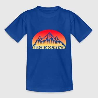 Beech Mountain North Carolina - Kinderen T-shirt