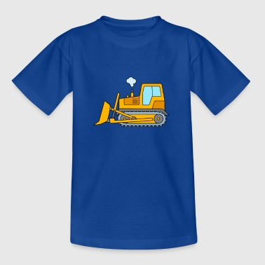 Bulldozer for children - bulldozer construction site - Kids' T-Shirt