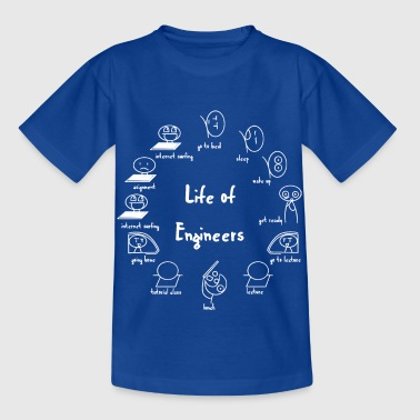 Engineer T-shirt - Engineer - Life - Funny - Kinderen T-shirt