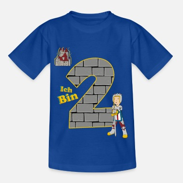 Knight Birthday shirt 2 years boy knight motive - Kids' T-Shirt