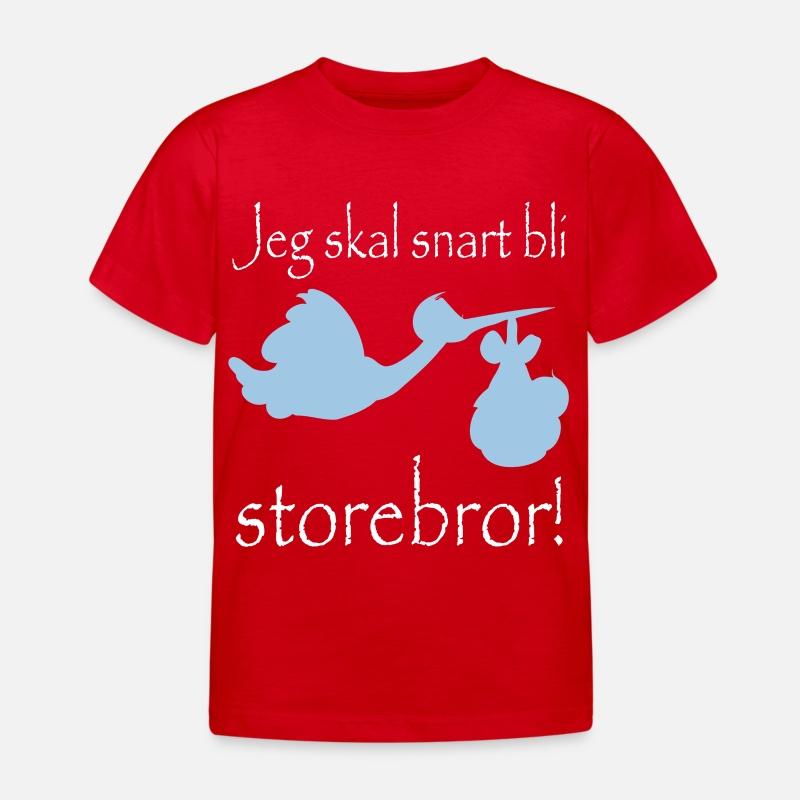 Jeg skal bli storebror T skjorte barn | Spreadshirt