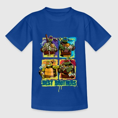 Kids Shirt TURTLES 'Best Brothers' - Kinder T-Shirt