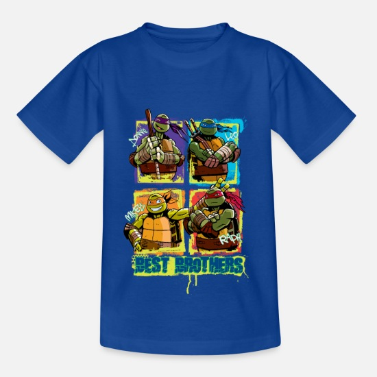 Officialbrands T-Shirts - Kids Shirt TURTLES 'Best Brothers' - Kids' T-Shirt royal blue