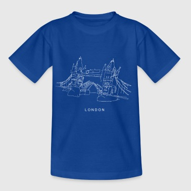 London Tower Bridge w - T-shirt Enfant