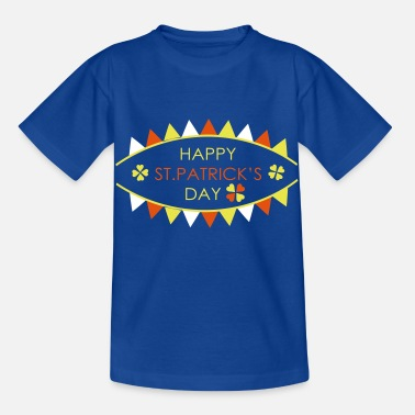 Luck HAPPY ST PATRICKS DAY TYPO - Kids' T-Shirt