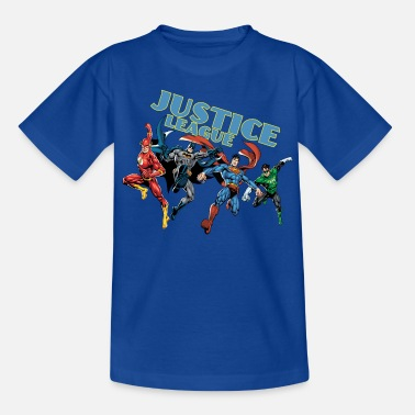 Batman Superhelden Justice League Character Mix - Kinder T-Shirt