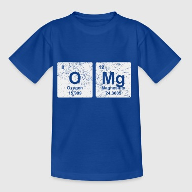 OMG chemical elements chemistry shirt gift - Kids' T-Shirt