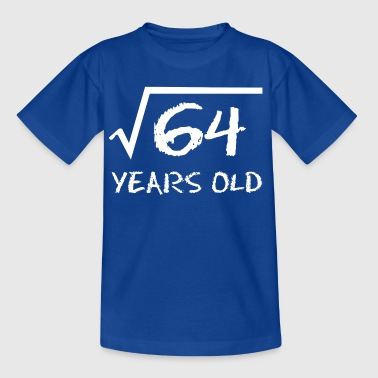 Root 8th birthday root math - Kids' T-Shirt