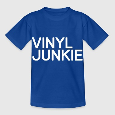 TECHNO - VINYL JUNKIE PLEDGE - Kids' T-Shirt