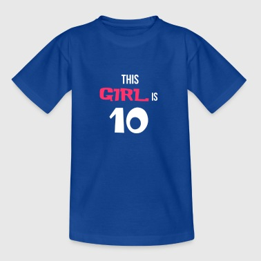 BDAY | THIS IS 10 - Kids' T-Shirt