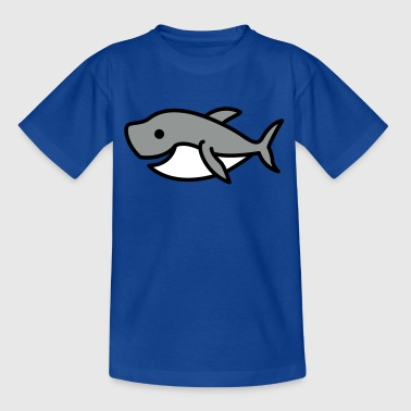 Shark Cartoon Cartoon Shark - Kids' T-Shirt