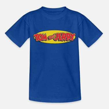 Tom Und Jerry Logo - Kinder T-Shirt