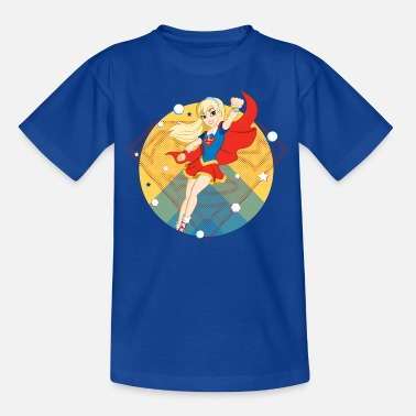 Super DC Super Hero Girls Supergirl - Kinder T-Shirt