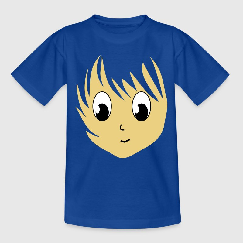 Anime manga smile cartoon 3 c. - Kids' T-Shirt