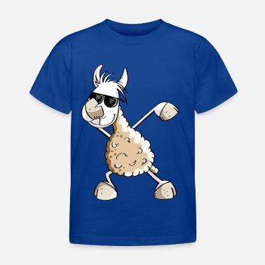 d32aea4df1 Cool Dab Dance Lama - Dabbing Alpaca - Comic Fun - Maglietta per bambini