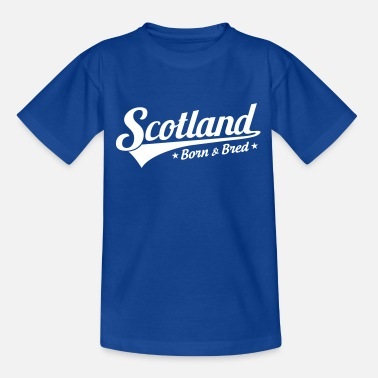 Scotland Scotland Born & Bred - Kids' T-Shirt