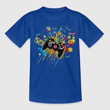 Gamepad Video Games - Kids' T-Shirt