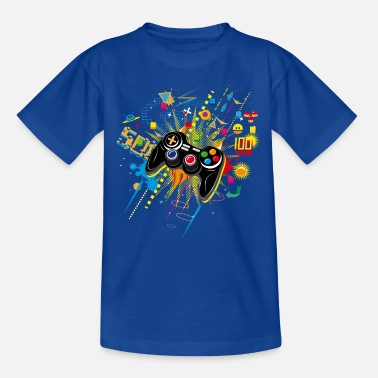 Video Game Gamepad Video Games - Kids' T-Shirt