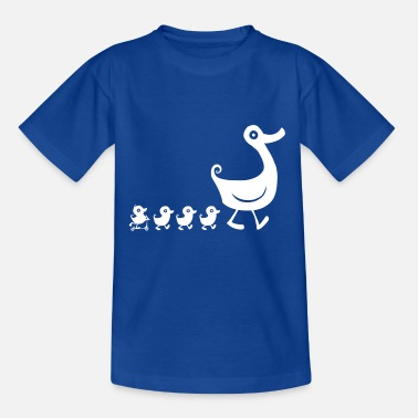 Duck Family t-shirt - Kids' T-Shirt