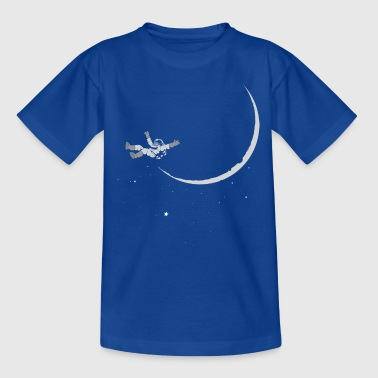 Weightless Moon Astronaut Weightless - Kids' T-Shirt