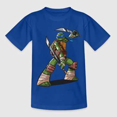 TMNT Turtles Leonardo Ready For Action - Kids' T-Shirt
