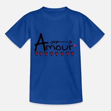 Amour amour - Kids' T-Shirt