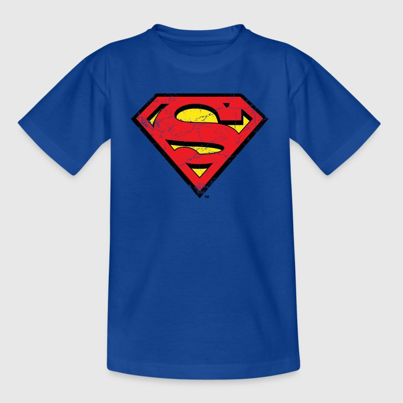 Superman Logo Tasse - Kinder T-Shirt
