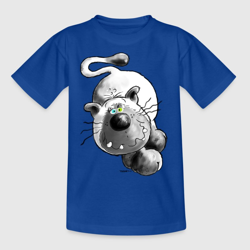 Crazy Cat - Chat - Simamois - T-shirt Enfant