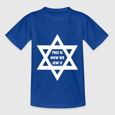 Happy Hanukkah Hanukkah camiseta Dreidel Jew it - Camiseta niño
