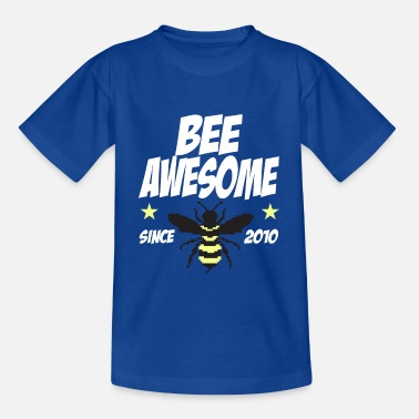 Awesome Since Birthday children bee Bee Awesome 2010 9 years - Kids' T-Shirt