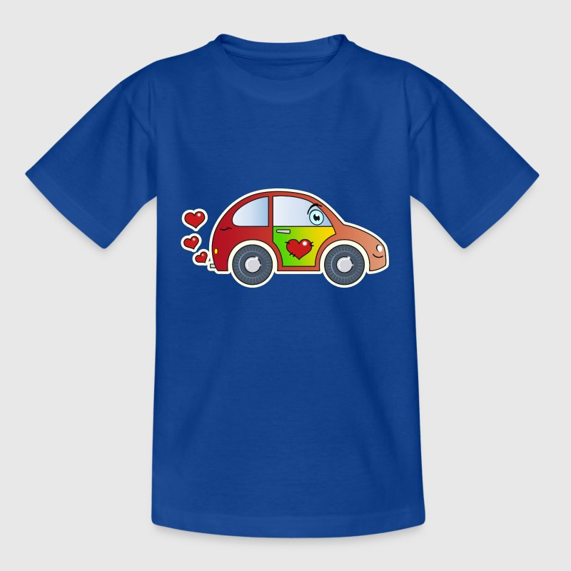 Kids Car Toy Car heart colorful merry children - Kids' T-Shirt