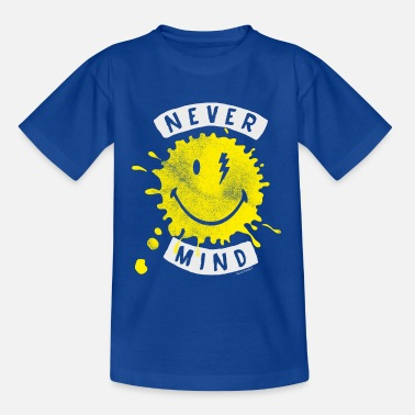 Smiley SmileyWorld Never Mind Splash Smiley - Kinder T-Shirt
