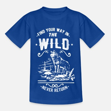Wilderness wilderness - Kids' T-Shirt