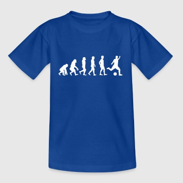 Evolution Fussball - Kinder T-Shirt