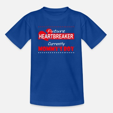 Genegenheid Future Heartbreaker Mommys Boy wit - Kinderen T-shirt