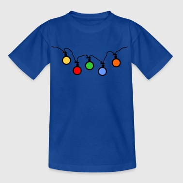 Light Party éclairage ampoules - T-shirt Enfant