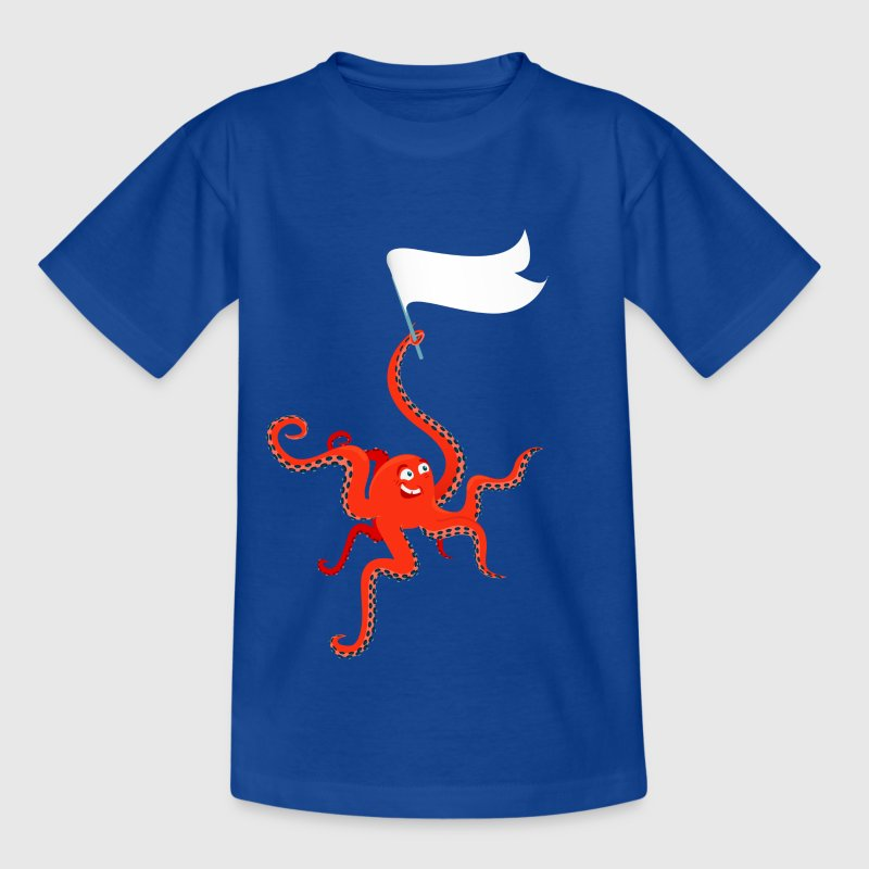 Funny octopus Paul - Kids' T-Shirt