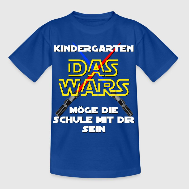 Kindergarten - DAS WARS - Kinder T-Shirt
