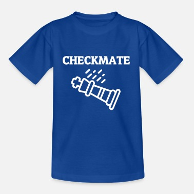 Game Over Checkmate - Kinderen T-shirt