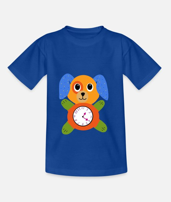 Alarm Clock T-Shirts - Effusbaby Clock - Kids' T-Shirt royal blue