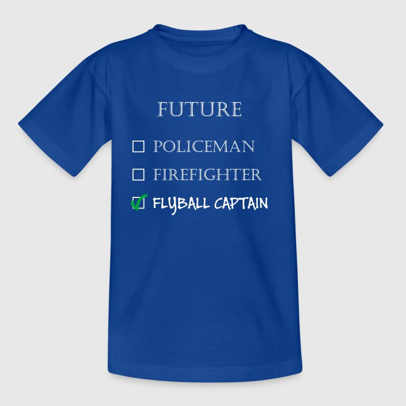 Policeman or Flyball Captain - Kids' T-Shirt