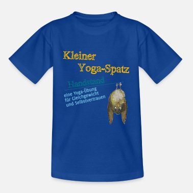 Sweet Fash Yoga | Sparrow | Exercise: Handstand - Kids' T-Shirt