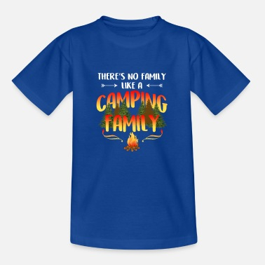 Funny Camping Lovers Camping Family Trip Outdoor Vacation Scout Gift - Kids' T-Shirt