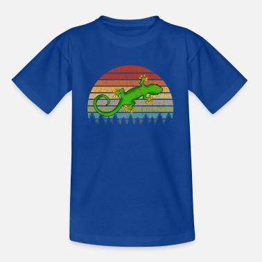 Gecko Madagascar Day Gecko Pet Lizard Lover Reptile Gift - Kids' T-Shirt