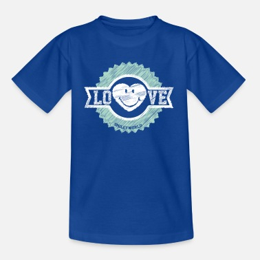 Smiley SmileyWorld Love Badge - Kids' T-Shirt