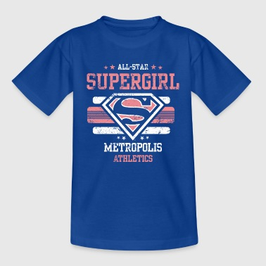 Supergirl barn T-Shirt All Star - T-skjorte for barn