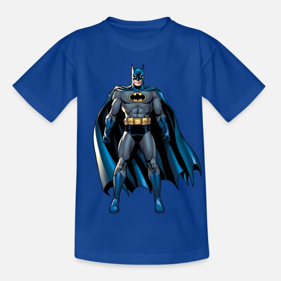 Barn T-shirts - Batman-pose 1 T-shirt barn - T-shirt barn kungsblå